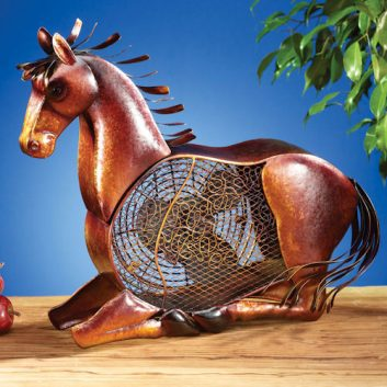 Funky Horse Shaped Fan
