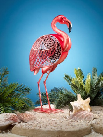 Funky Flamingo Shaped Fan
