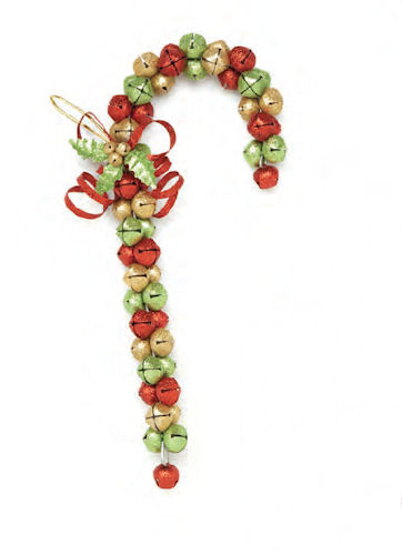 Jingle Bell Candy Cane Christmas Door Decoration Happy Holidayware Awesome Decorative Jingle Bells