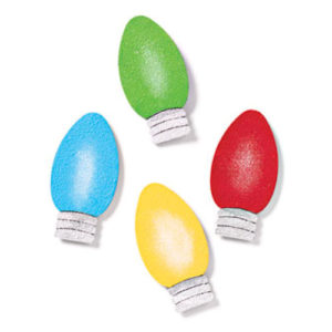 Holiday Bulb Magnets
