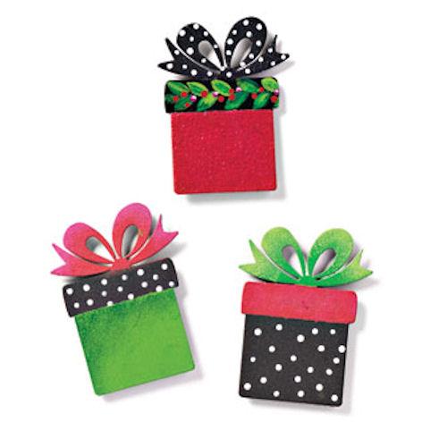 Christmas Present Magnets