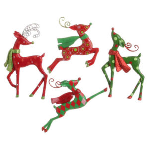 Dancing Reindeer Ornaments