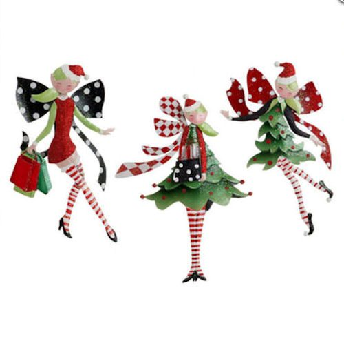 Pixie Christmas Ornaments