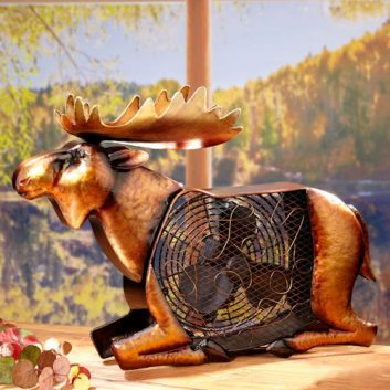 Funky Moose Shaped Fan