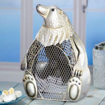 Funky Polar Bear Shaped Fan