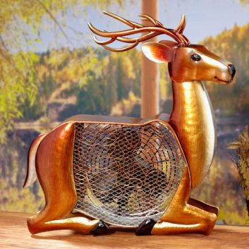 Funky Deer Shaped Fan