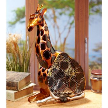 Funky Giraffe Shaped Fan