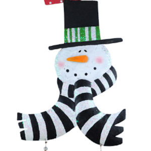 Welcome Snowman Door Decoration