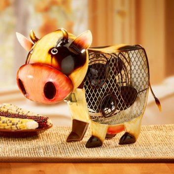 Funky Country Cow Shaped Fan