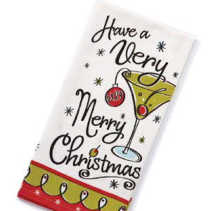 Very Merry Christmas Towel