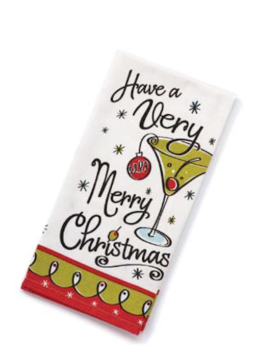 Very Merry Christmas Towel