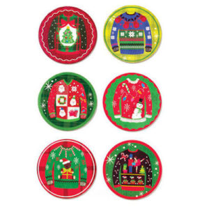 Ugly Sweater Coasters