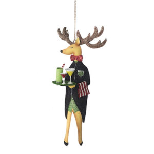 Party Butler Reindeer Ornament