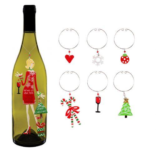 Christmas Diva Ornament and Charms