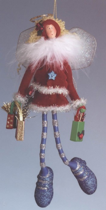 Christmas Eve Flurrie Ornament