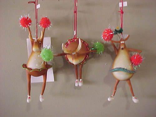 Cheerleaders Christmas Ornaments