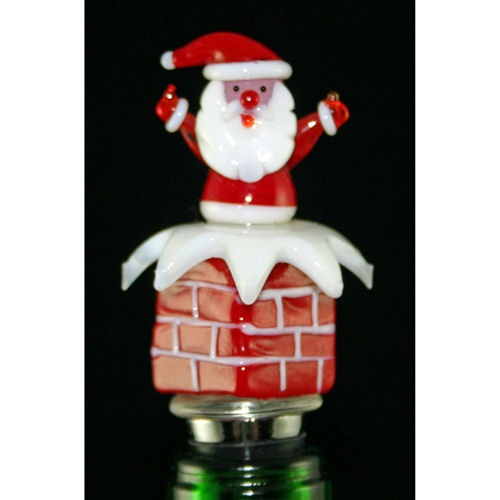 Santa Bottle Stopper