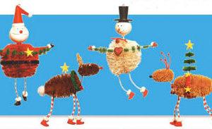 Sisal Christmas Ornaments