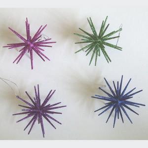 Starburst Christmas Ornament