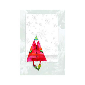 Santa Fridge Note Pad