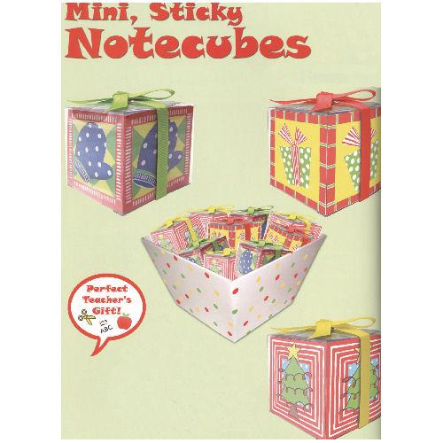 Christmas Notecubes