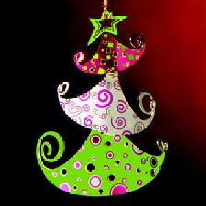 Whimsy Tree Christmas Ornament