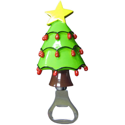 Christmas Tree Bottle Opener