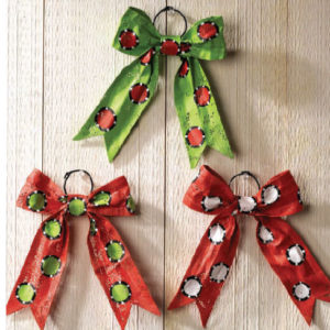 Bow Christmas Ornaments