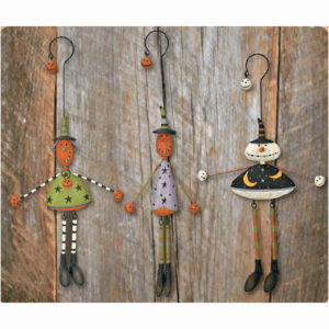 Pumpkin Head Ornaments
