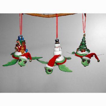 Holiday Turtle Christmas Ornament