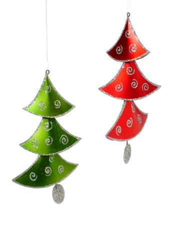 Dangle Tree Christmas Ornament