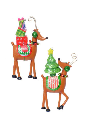 Delivery Reindeer Christmas Ornament