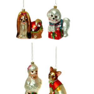 Lady Dogs Ornament
