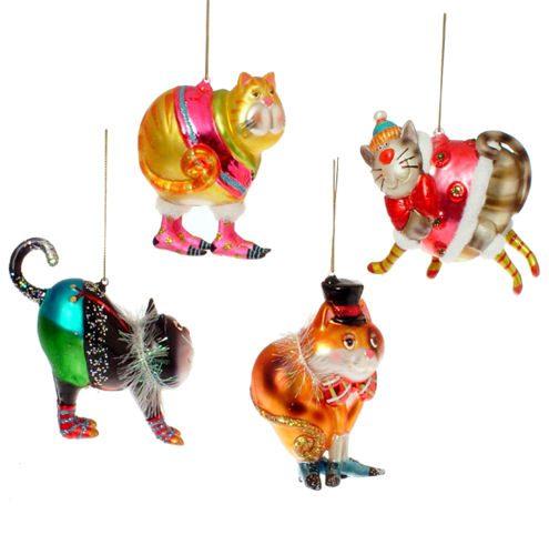 Cute Cat Ornaments