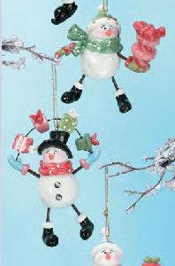 Snowman Splat Ornament