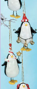 Dangling Penguin Ornament