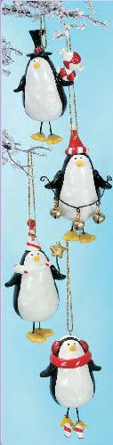 Dangling Penguin Ornament