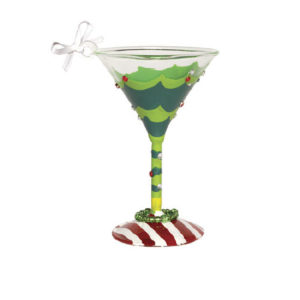 Tipsy Mini-Tini Ornament