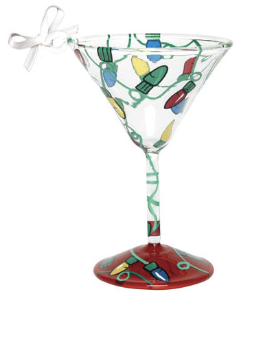 Electric Christmas Mini-Tini Ornament