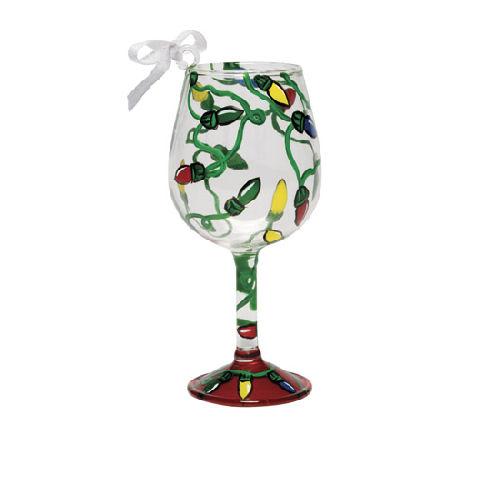 Electric Christmas Mini-Wine Ornament