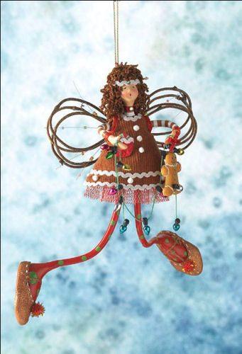 Ginger Flurrie Ornament