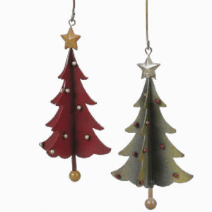Metal Tree Christmas Ornaments