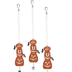 Stacked Pumpkin Halloween Ornaments