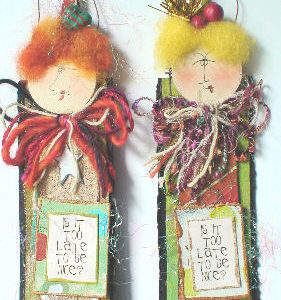 Handmade Friend Christmas Ornament Too Late