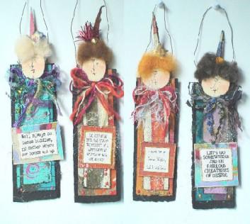 Handmade Friend Christmas Ornament