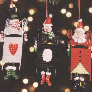 Sledding Snowman or Penguin or Santa