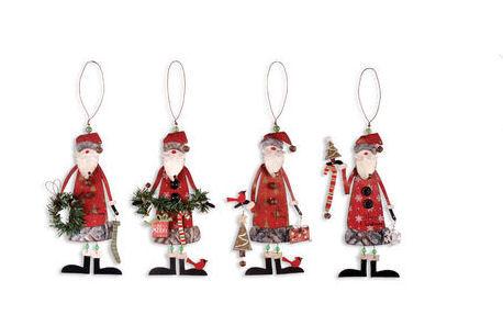 Woodsy Santa Ornament