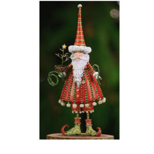 Krinkles Santa Christmas Ornament