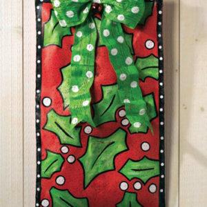 Red Gift Box Door Hanger