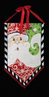 Santa Banner Christmas Decoration